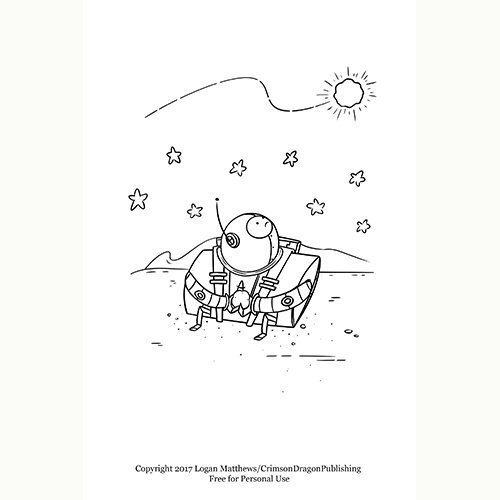 George-Franklin-Whit-Counting-with-Snit_Coloring Page
