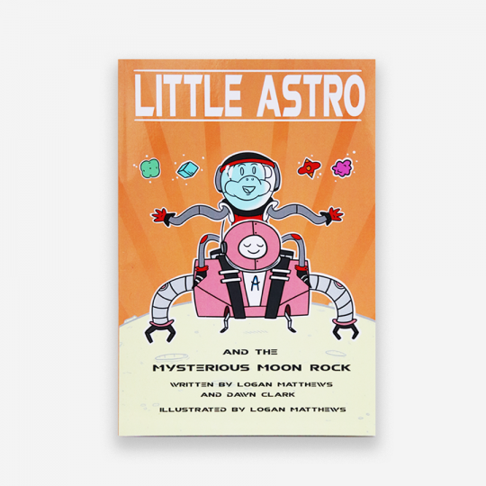 Little Astro and the Mysterious Moon Rock