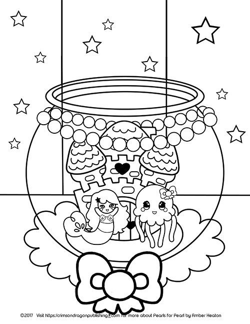 Pearl-and-Jelly_Coloring Page