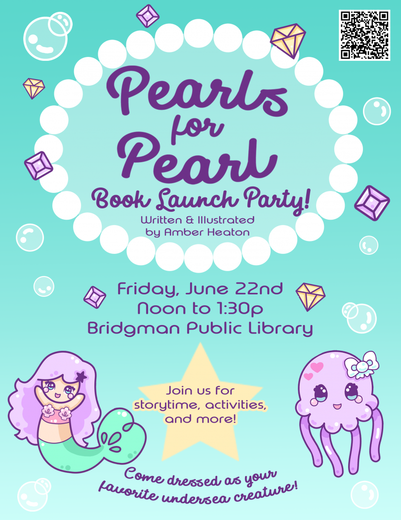 Pearl's Undersea Book Launch Party
