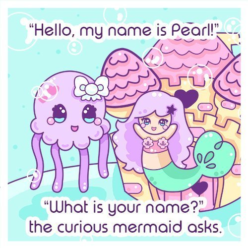 Pearl and Jelly, Pearls for Pearl by Amber Heaton