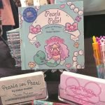 Display of 'Pearls for Pearl' by Author/Illustrator Amber Heaton.