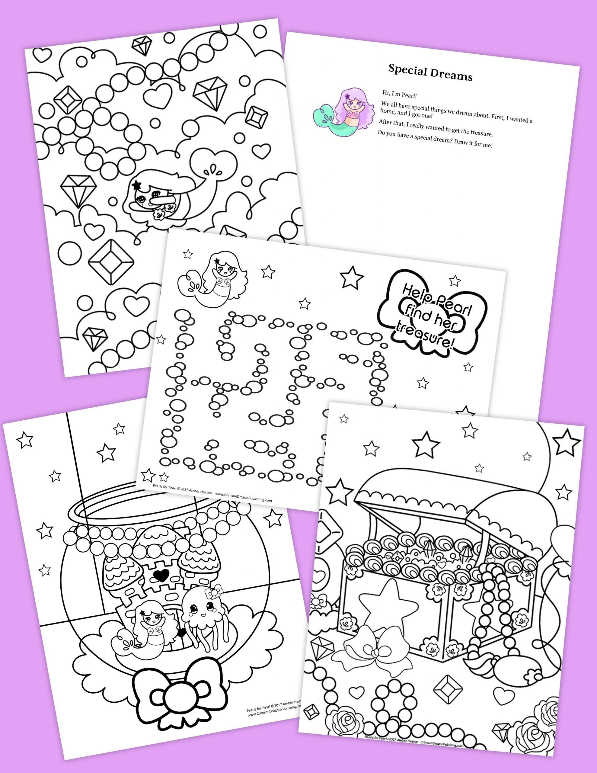 "The ""Pearls for Pearl"" Activity Pack."