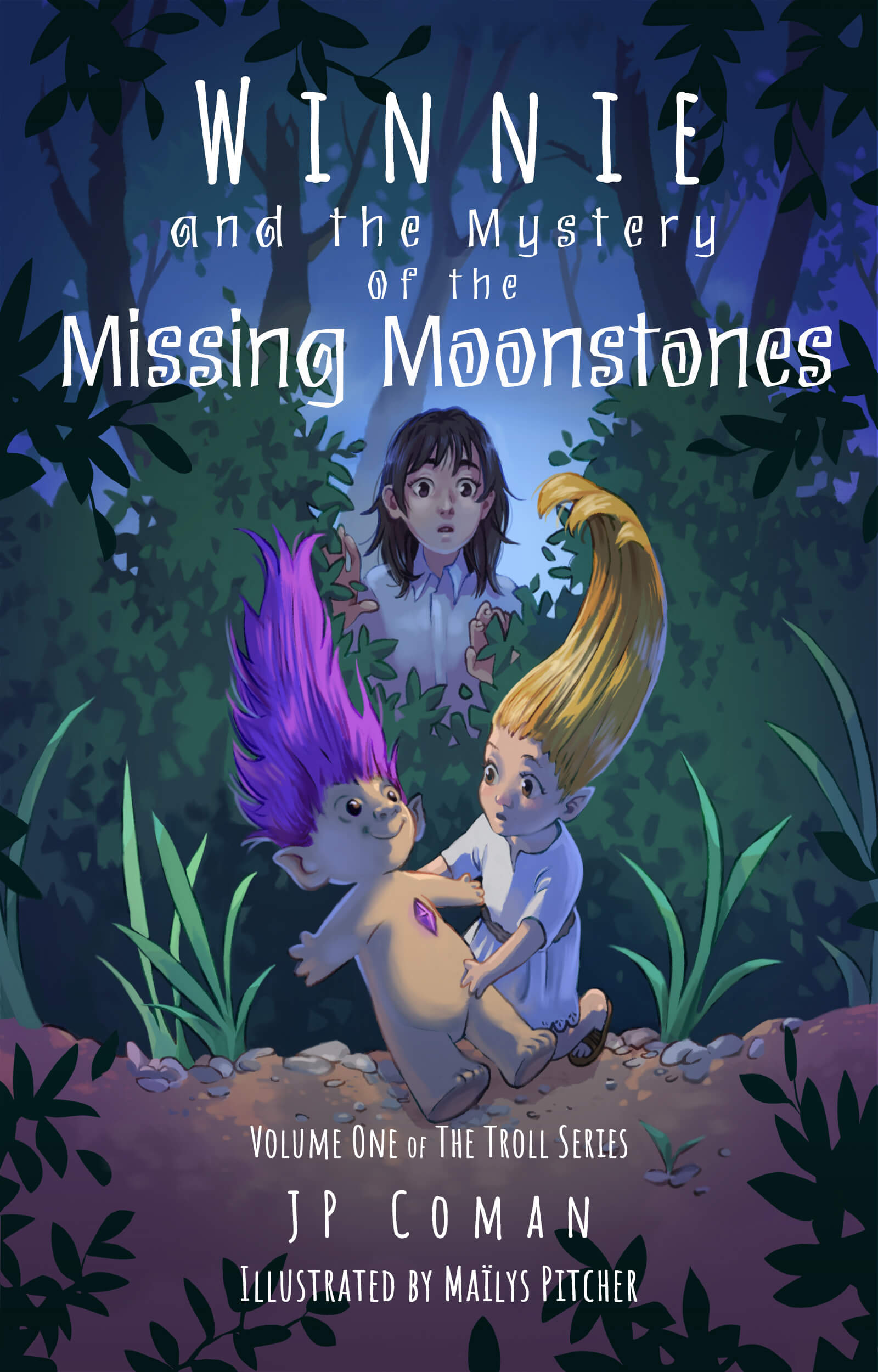 Winnie and the Mystery of the Missing Moonstones by J.P. Coman